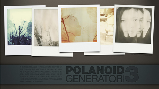 Free Photoshop actions: Polanoid Generator 3