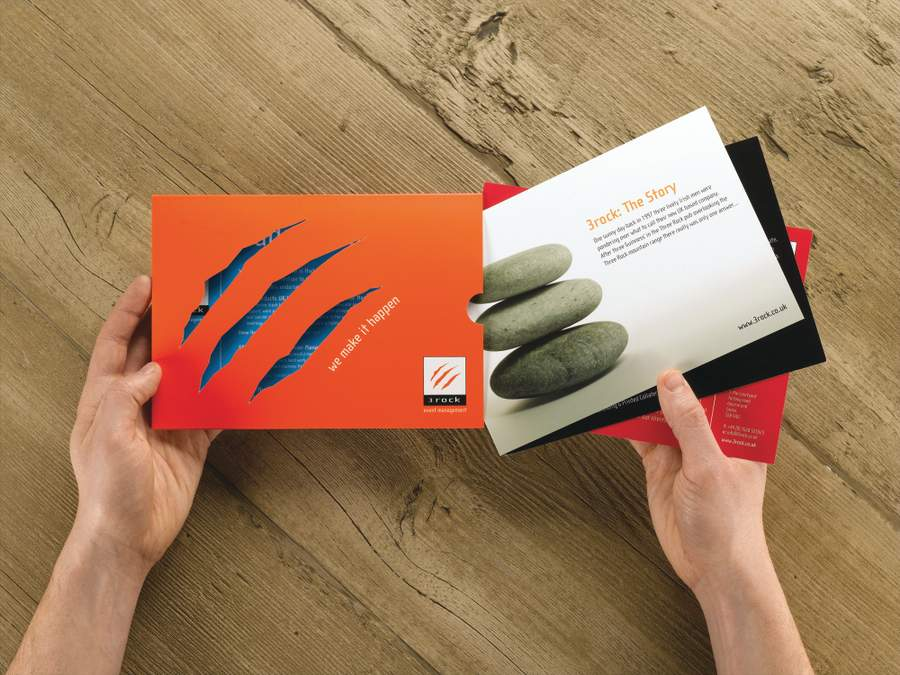 Brochure design: Get your copy right