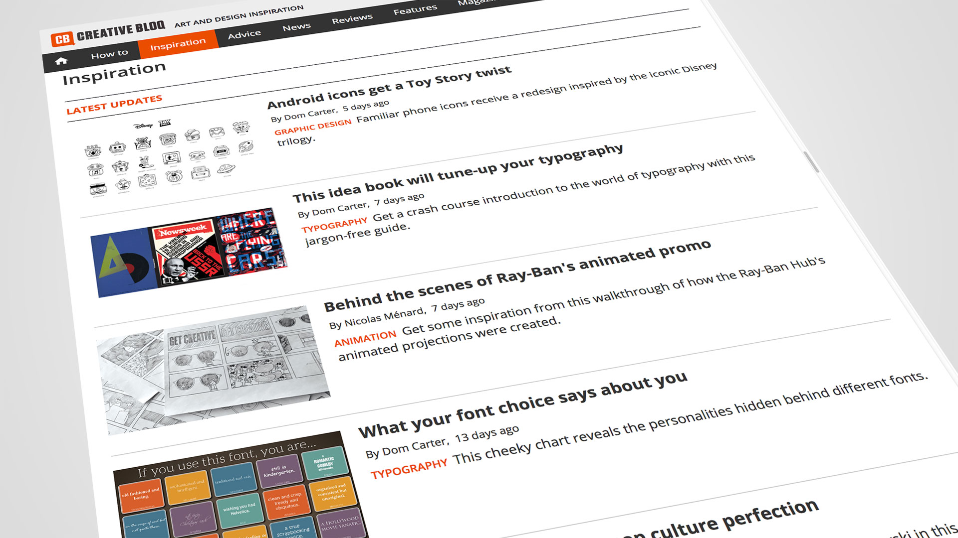 7 ways to get featured by the design press