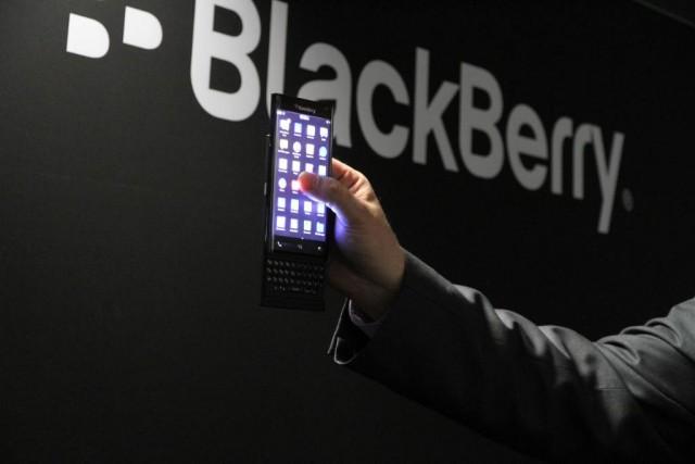 BlackBerry The Slider