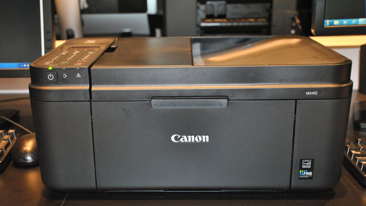 how to connect canon printer mx492 to mac