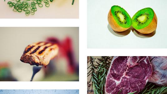 Web design tools: Foodshot