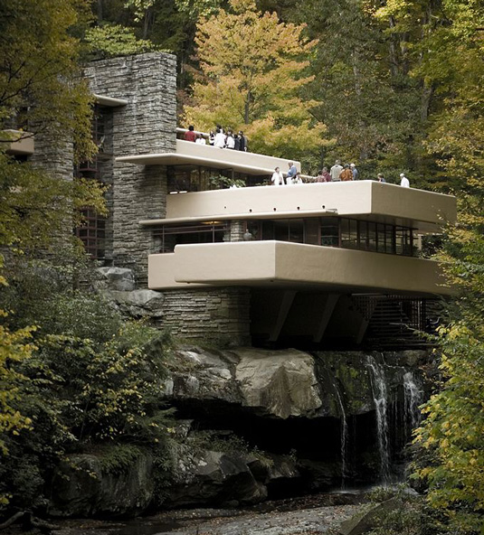 Famous buildings: Fallingwater in Mill Run