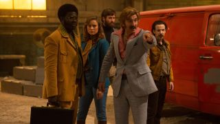 "Free Fire review: ""Loud, ripe, violent, bloody and blackly funny"""