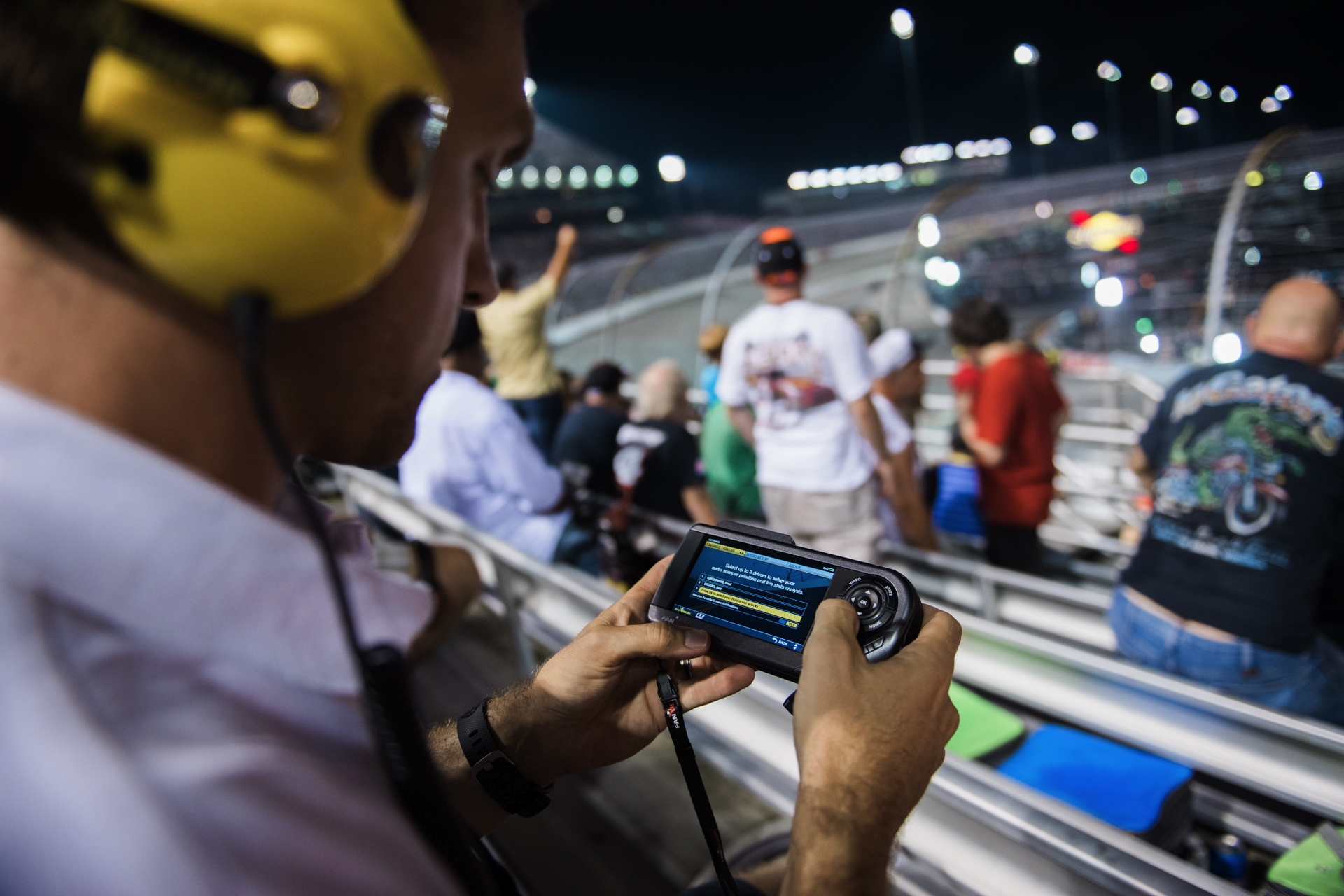 FanVision at NASCAR