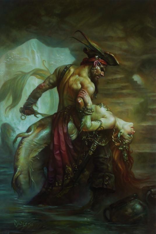 Conan the Barbarian artist describes his unique career path