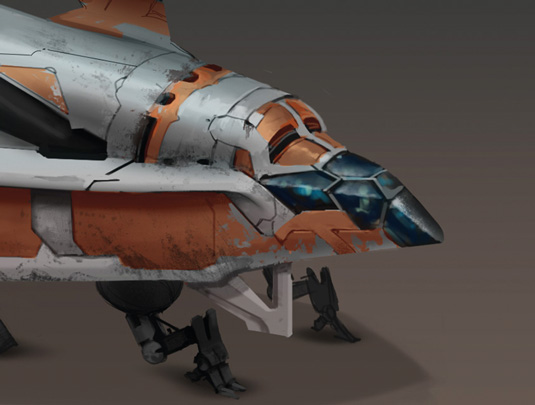 Game Space Ship: step 10