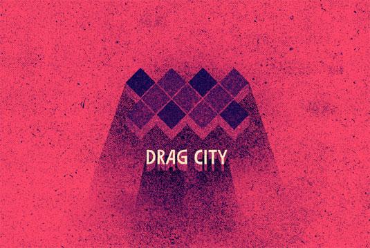 record label logos: drag city
