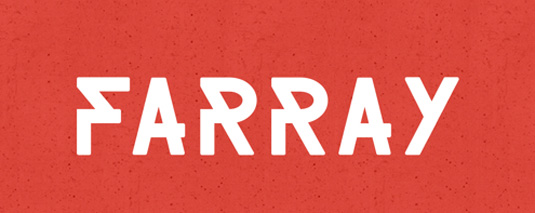 Free font: Farray