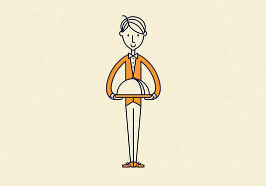 Line Art Illustration Style : Simple line art illustrations are a minimal joy creative