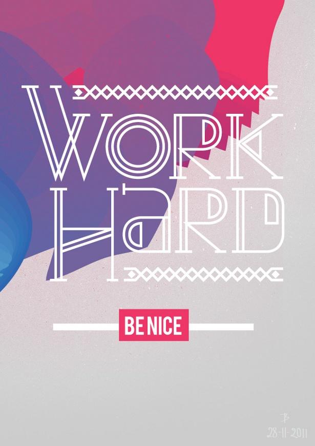 Bram Vanhaeren - Work Hard Be Nice