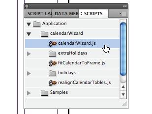 Create a calendar: step 1