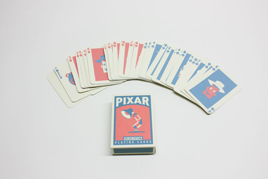 custom playing cards: Pixar