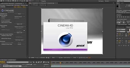 After Effects CC: Cinema 4D Lite