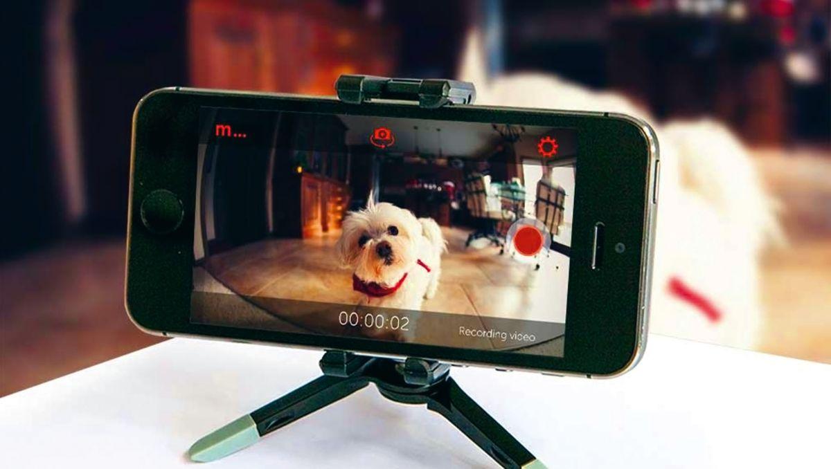 Old smart phone into webcam