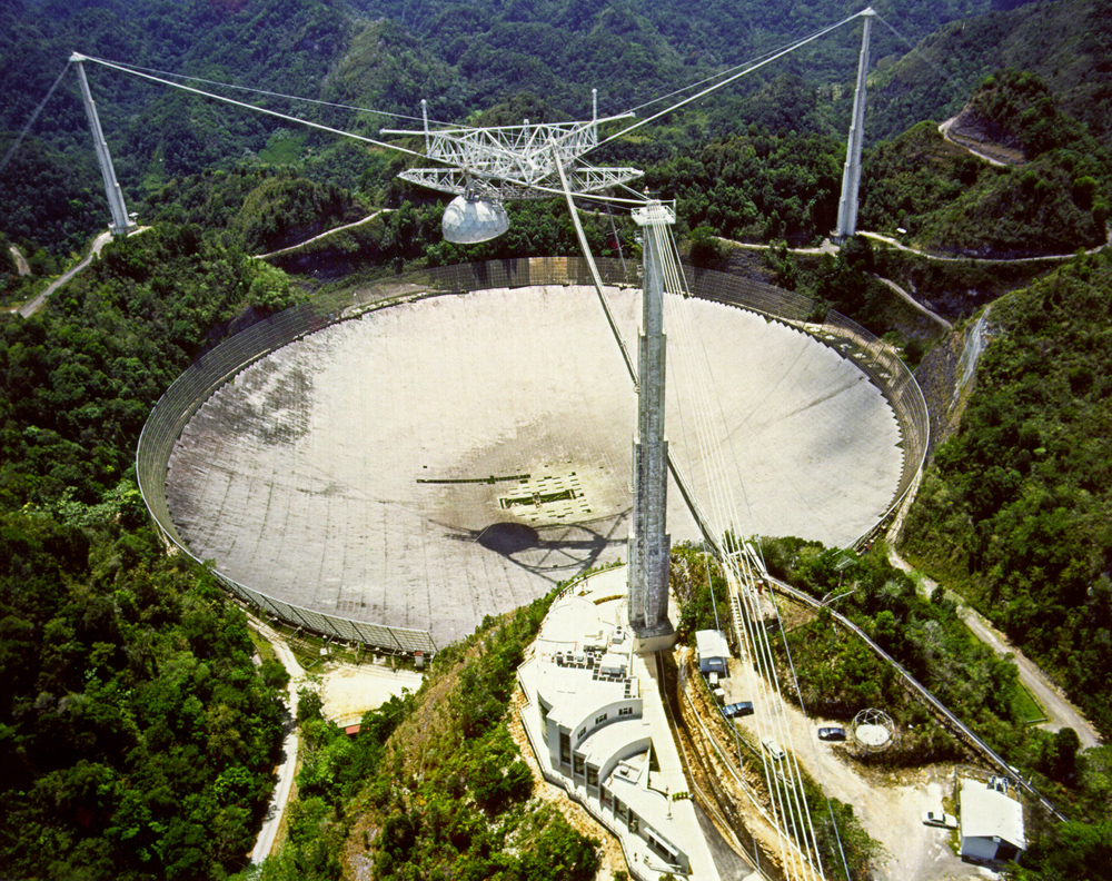 On This Day in Space! Nov. 16, 1974: Arecibo Observatory Broadcasts Interstellar Message