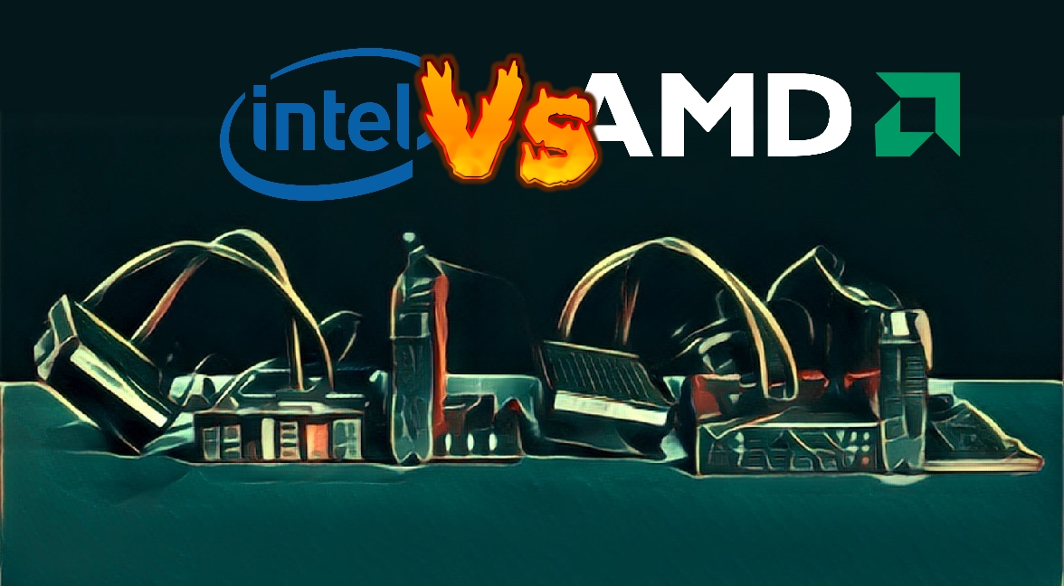 AMD vs Intel got hotter than ever in 2017