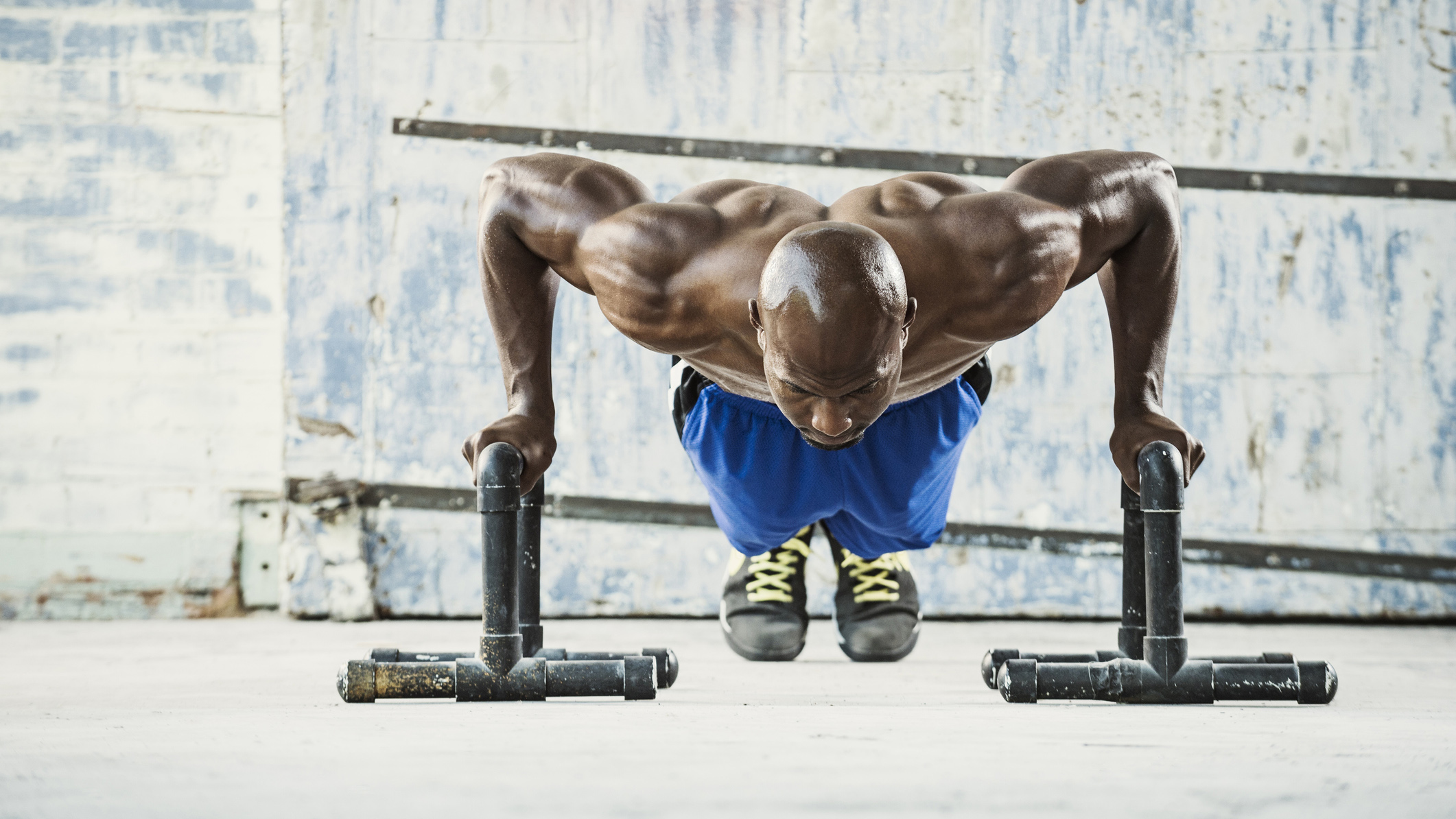 The best push up workouts to get big arms AND a broad chest