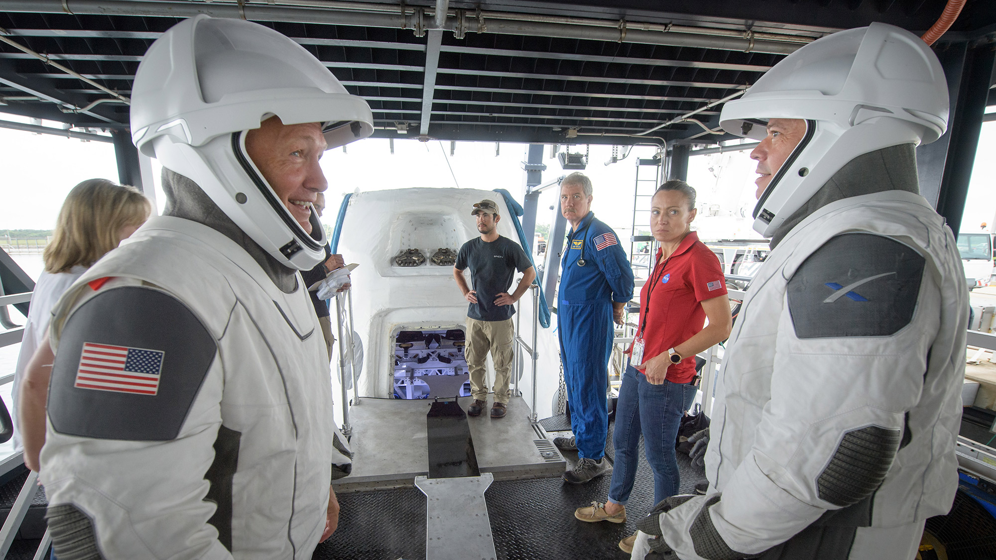 In Photos: NASA Practices Emergency Astronaut Recovery with SpaceX, Boeing
