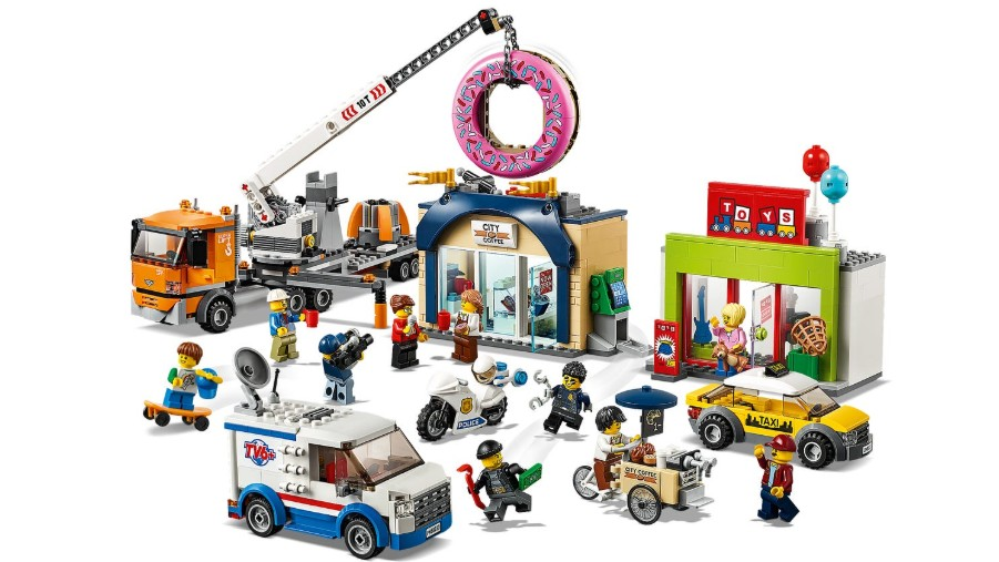 Best Lego City sets: Donut Shop