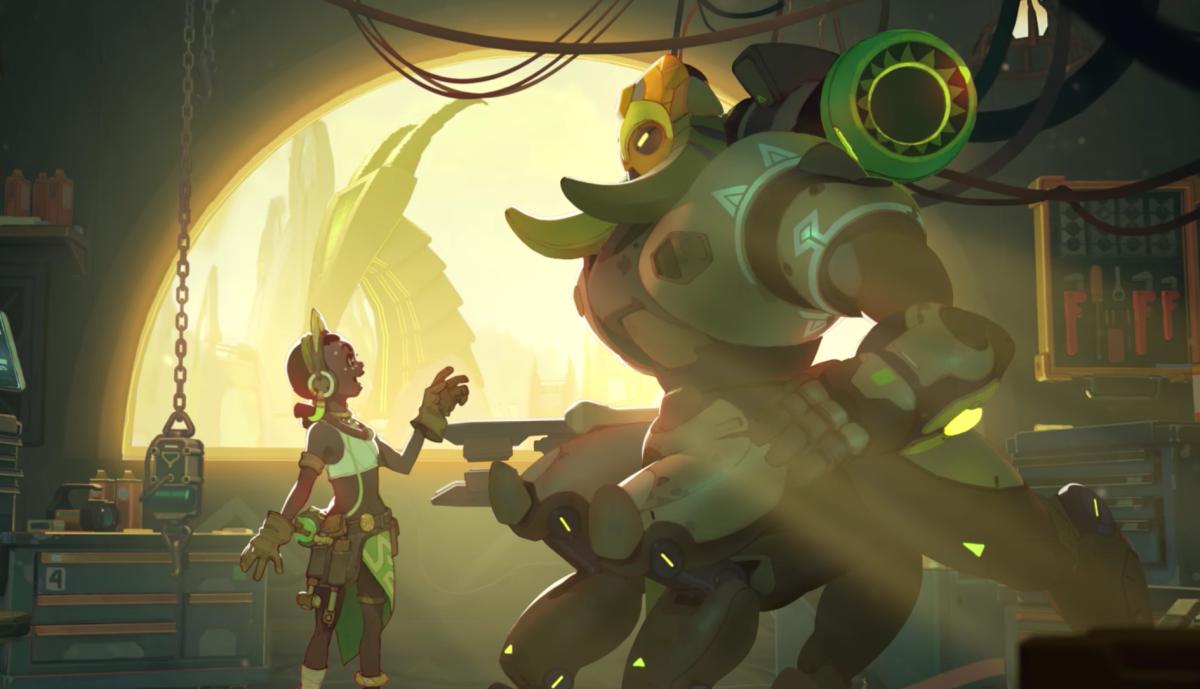Overwatch, Orisa, and cool tanks | GamesRadar+