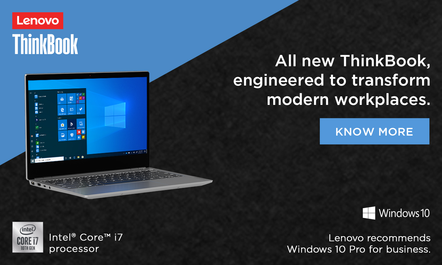Lenovo ThinkBook-series aims to bring the office home with business-centric features
