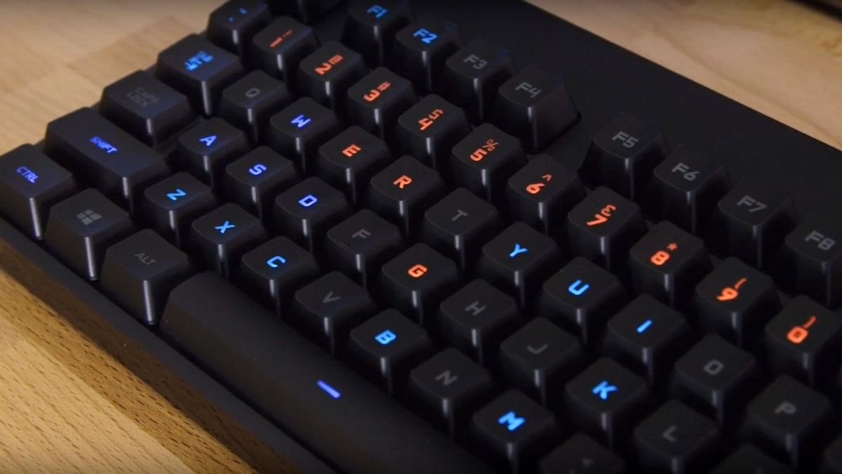 Unleash your full potential with the Logitech G Pro Gaming Keyboard
