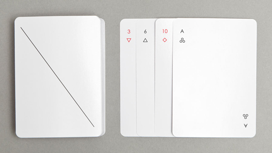 custom playing cards: Joe Douchet