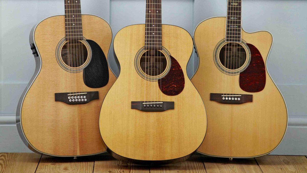the best budget acoustic guitars under 500 650 musicradar. Black Bedroom Furniture Sets. Home Design Ideas