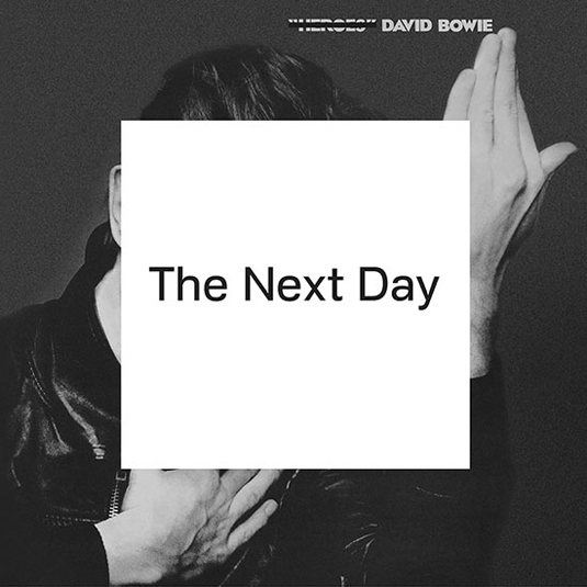 Doctrine typeface David Bowie The Next Day