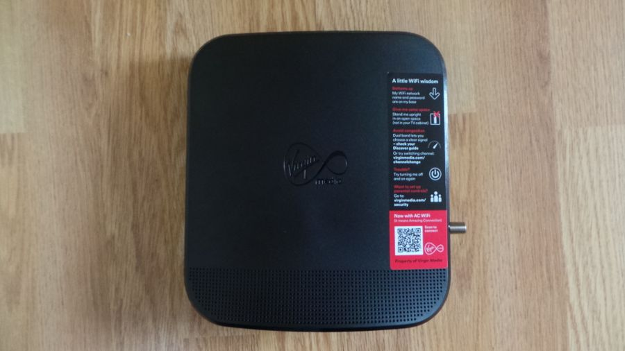 virgin mac router quite