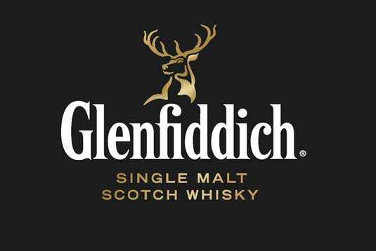 New logo and branding for Glenfiddich whisky