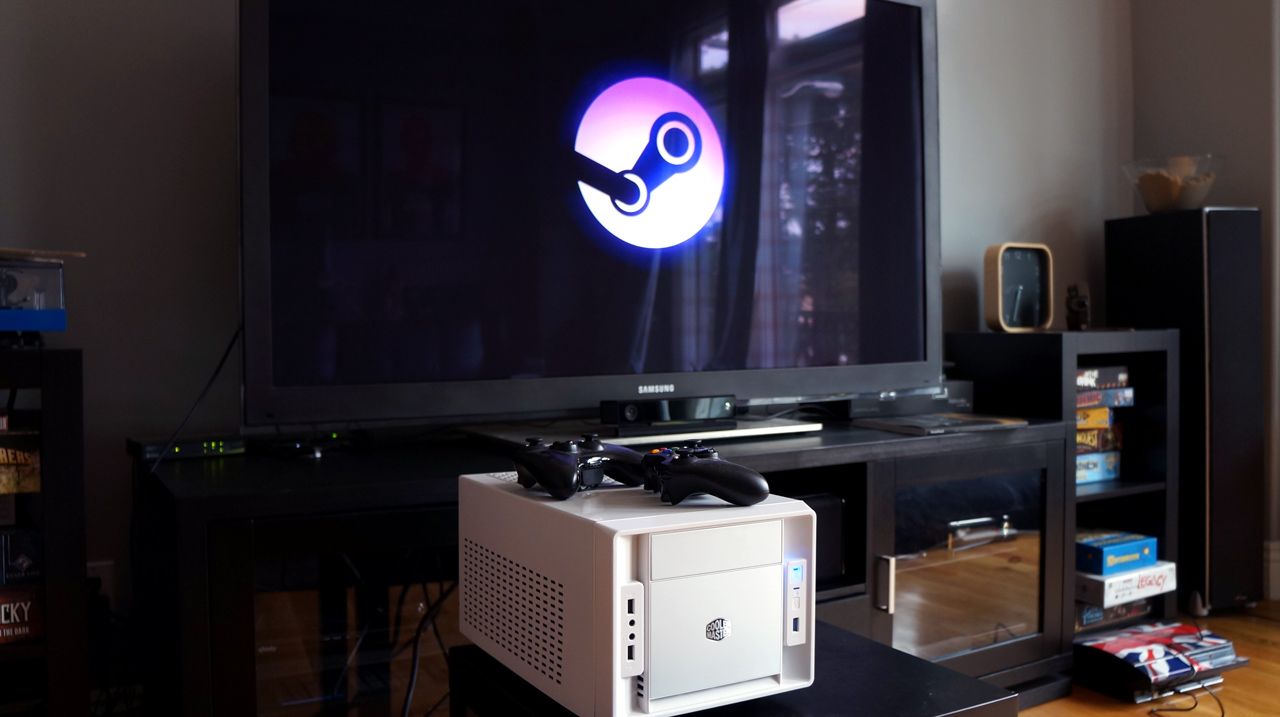 How to set up steam in home streaming on your pc pc gamer for Best living room setup
