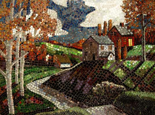 Mosaic art - Sandra Bryant