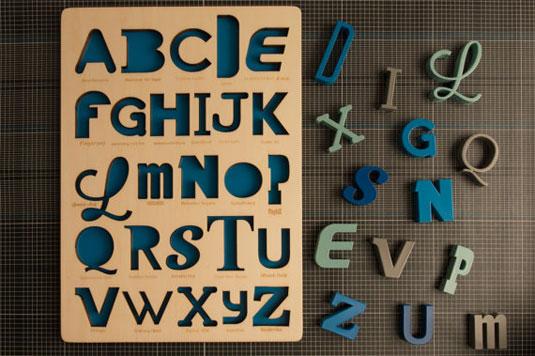 typography puzzle
