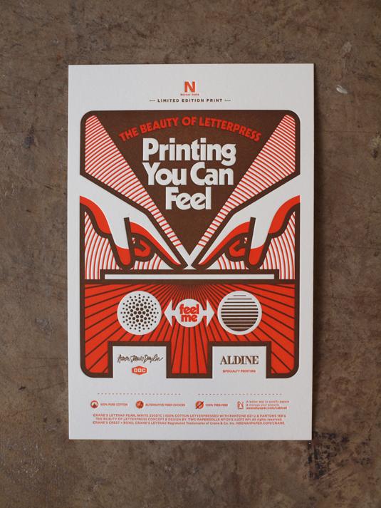 Aaron Draplin letterpress print