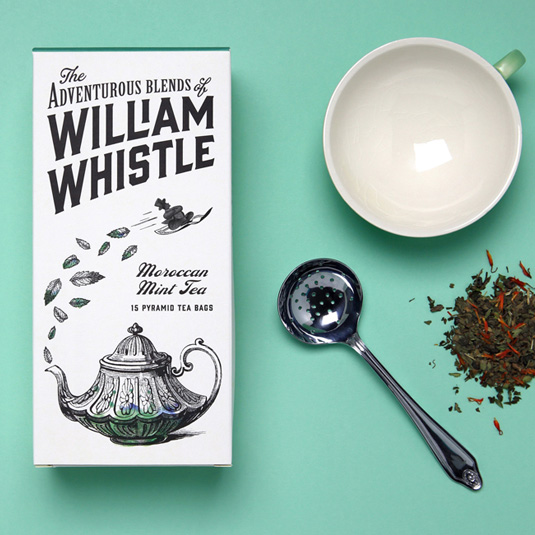 William Whistle packaging