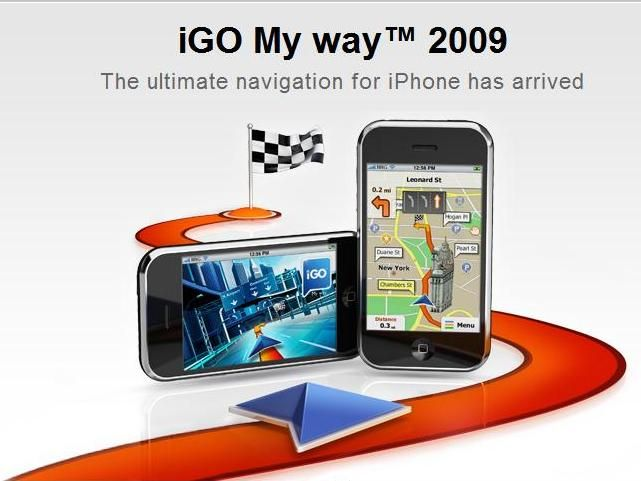 Igo My Way Personal Sat Nav For Iphone Launched Techradar