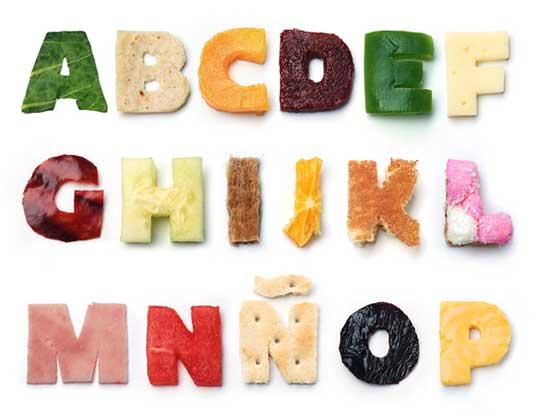 Karen Cantú good food typeface