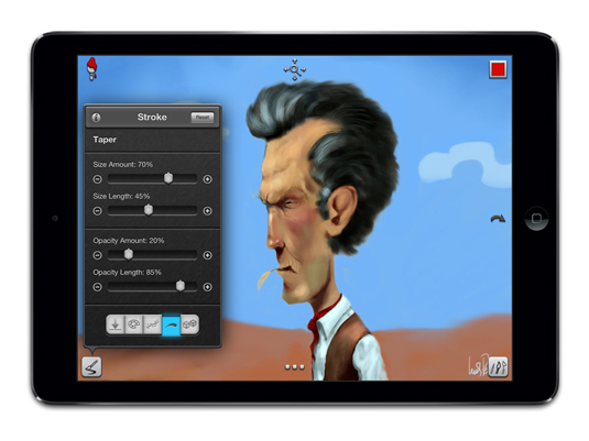 Drawing apps for ipad: Inspire Pro
