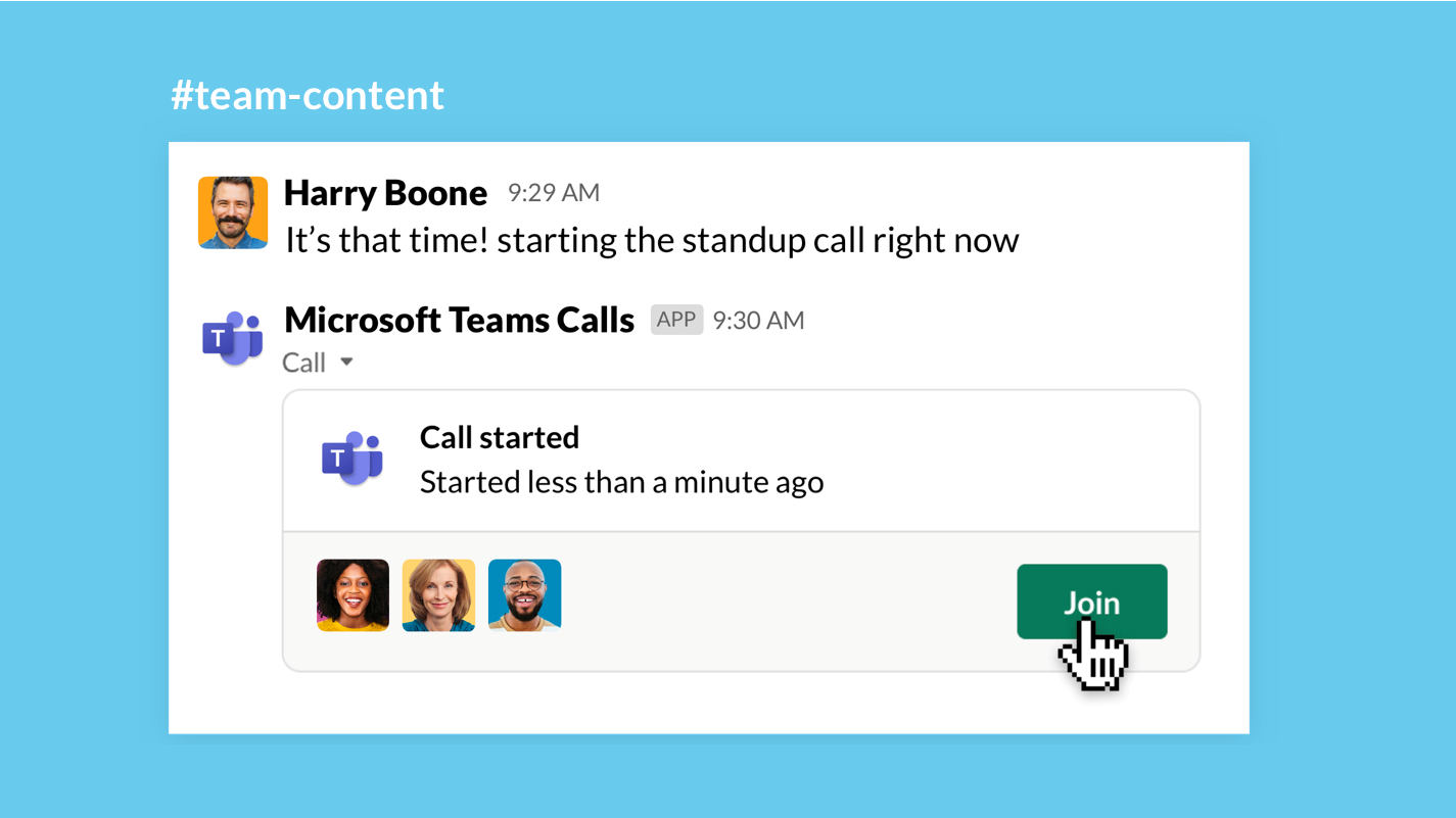 You can now join Microsoft Teams meetings from Slack