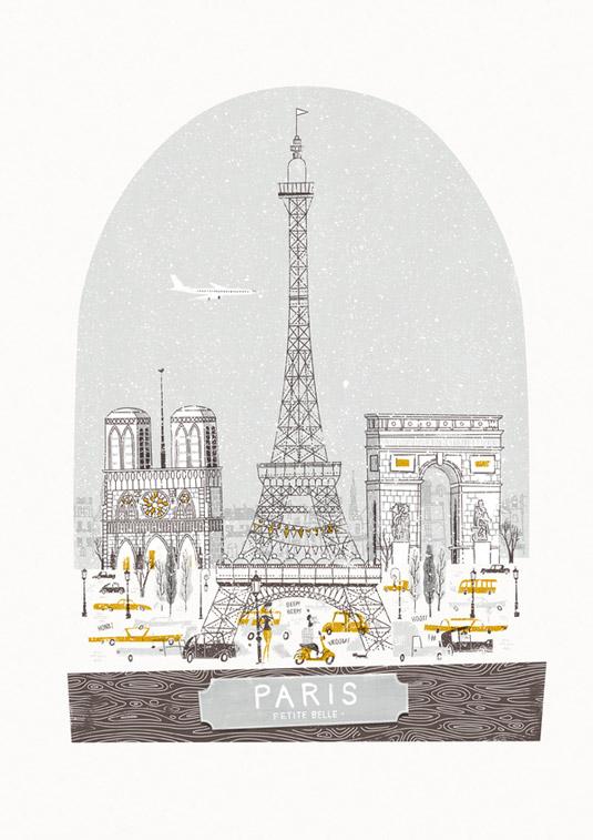 Travel posters - Paris
