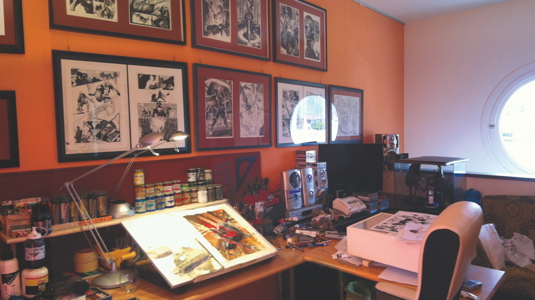 Artist in residence: Simone Bianchi