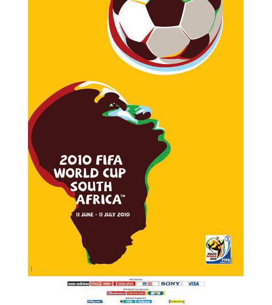 The 20 posters of the FIFA World Cup