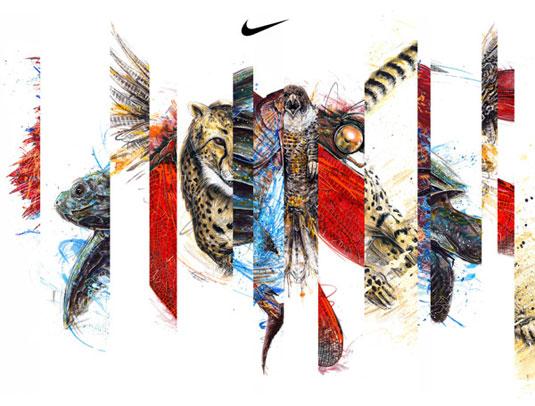 Nike wild logos
