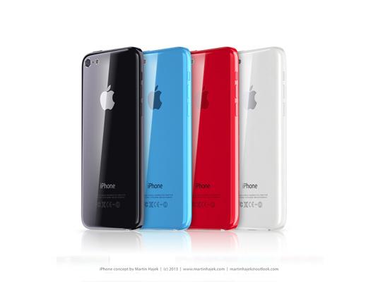 iPhone Mini running iOS 7 3