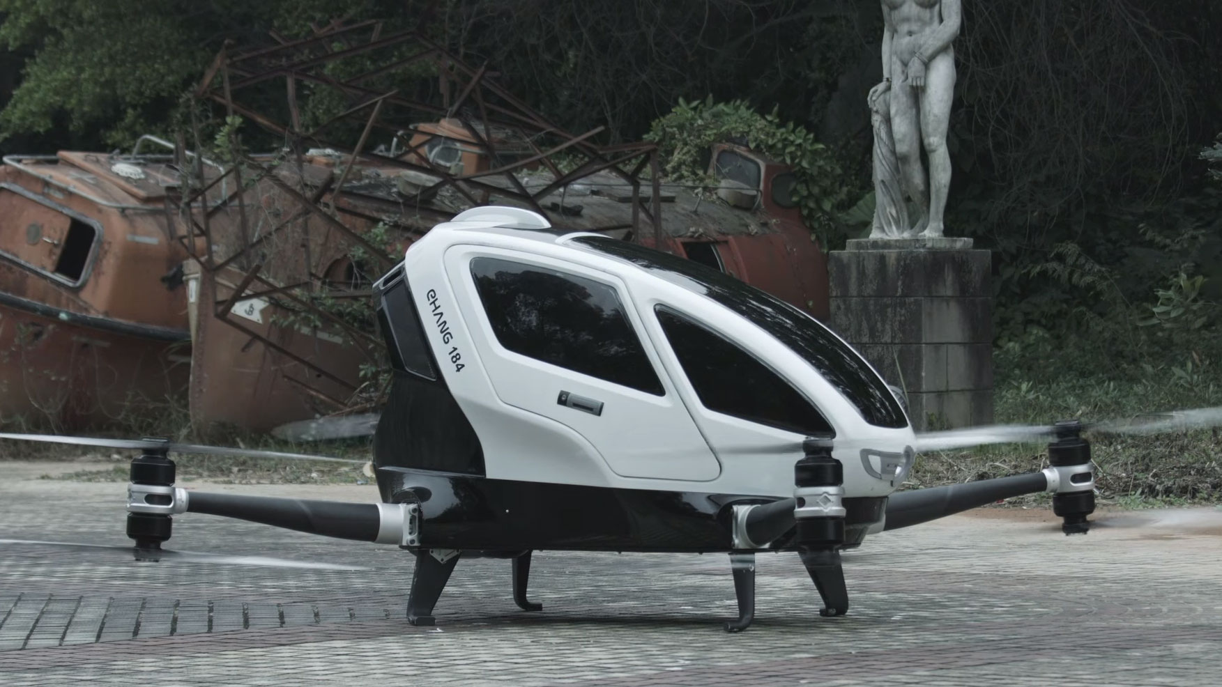 Worlds First Human Carrying Drone Is The Closest Weve Come To A Flying Car