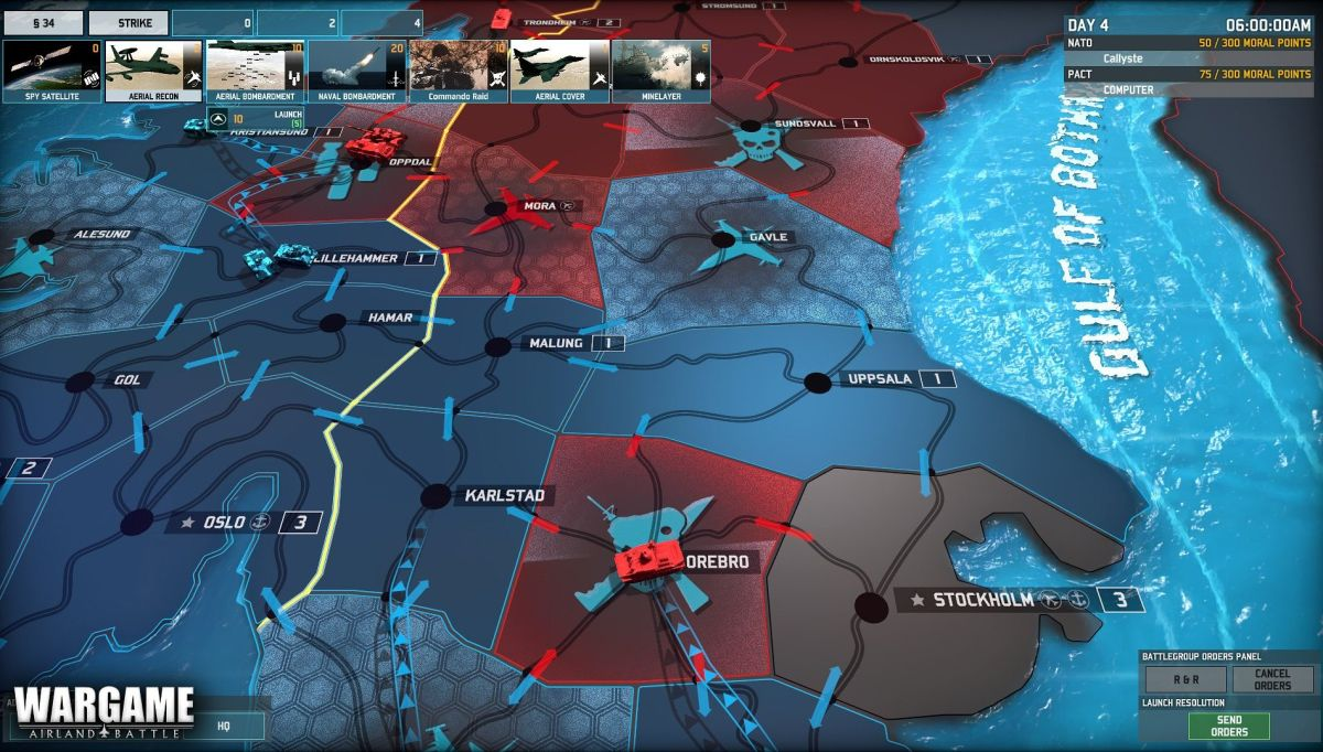 Wargame Airland Battle Trailer Strategically Mixes War