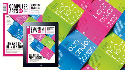 computer arts redesign