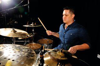 Bruno Mars drummer Eric Hernandez